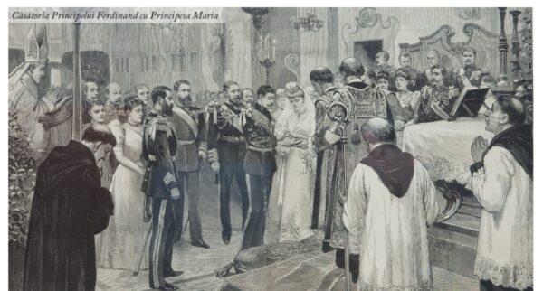Căsătoria Principelui Ferdinand cu Principesa Maria