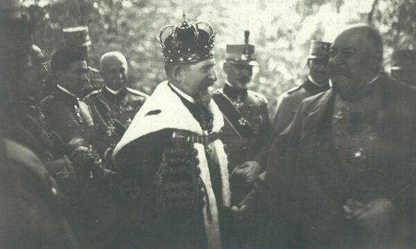 Regele Ferdinand și generalul Berthelot