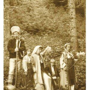Principesa Maria, principele Carol, principesa Mignon, principele Nicolae, principesa Elisabeta