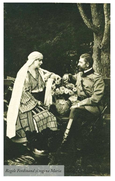 Regele Ferdinand și regina Maria