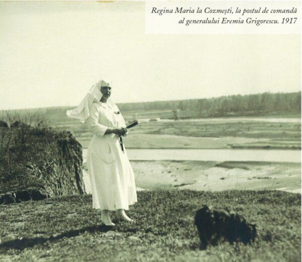 Regina Maria la Cozmești, la postul de comandă al generalului Eremia Grigorescu