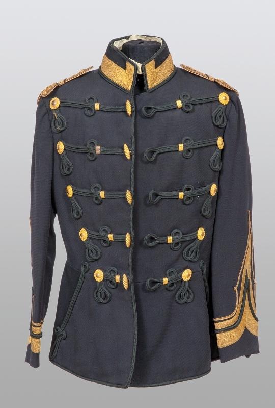 Tunică de general de brigadă de cavalerie